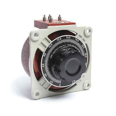Open-Type Variable Autotransformer (Variac) for Panel Mounting 1ph 6A