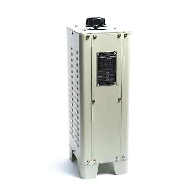 RAVI 2P-3 Free Standing Enclosed Variable Autotransformer (Variac) 3ph 2A