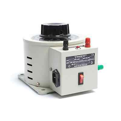 RAVI 6P-1 Bench Mountable Enclosed Variable Autotransformer (Variac) 1ph 6A
