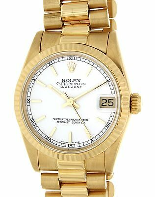 Rolex DATEJUST 31 68278 YELLOW GOLD, 31MM 68278