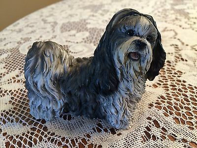 1990 Castagna Shih Tzu Dog Figurine Made In Italy