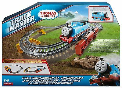 Thomas & Friends Trackmaster Railway 2-in-1 Track Builder Play Set & Train