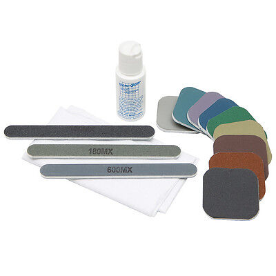 FOUNTAIN PEN & NIB polishing - MICRO-MESH Craft Kit for modelmakers & hobbiests