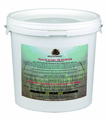 MULTI MITE® 6KG BUCKET DIATOMACEOUS EARTH  Feed Grade DE Powder
