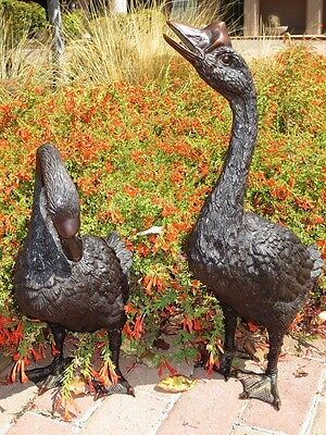 BRONZE GEESE Statues