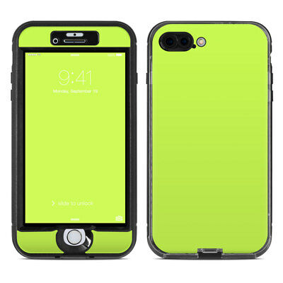 Skin for LifeProof NUUD iPhone 7 Plus - Solid Lime - Sticker Decal