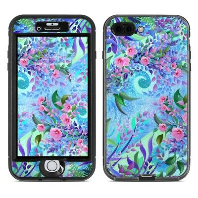 Skin for LifeProof NUUD iPhone 7 Plus - Lavender Flowers - Sticker Decal