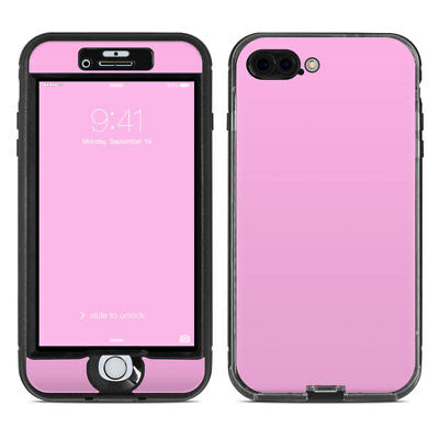 Skin for LifeProof NUUD iPhone 7 Plus - Solid Pink - Sticker Decal