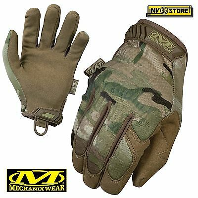 Guanti MECHANIX Original MULTICAM Tactical Gloves Softair Security Antiscivolo