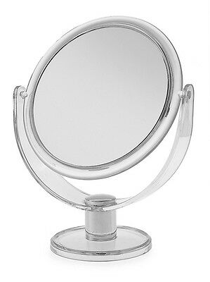 Ba2209 Blue Canyon Plastic Round Mirror Clear - Med [3657]