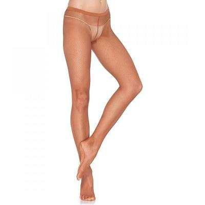Leg Avenue Medias De Red Profesionales Marron