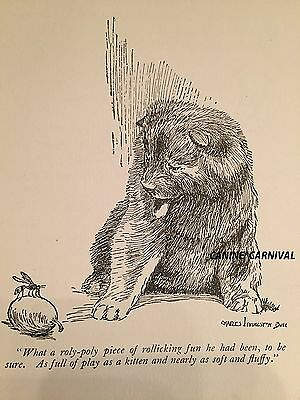 BEAUTIFUL VINTAGE 1926 CHOW CHOW PUPPY Dog  PRINT CHARLES LIVINGSTON BULL