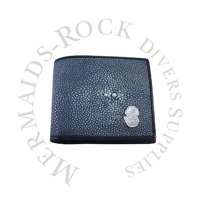 Commercial Diving: Ray Skin Wallet / Blue / Hard Hat Logo