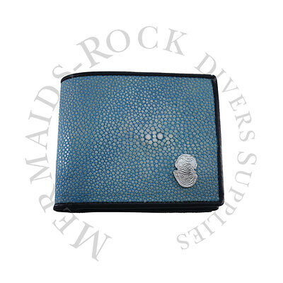 Commercial Diving: Ray Skin Wallet / Light Blue / Hard Hat Logo