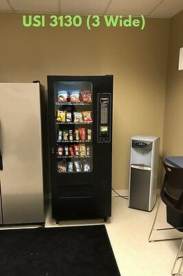 10 Used Snack and Drink Vending Machines & Misc.Vending Parts