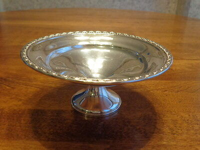 Sterling Silver Compote Candy Dish