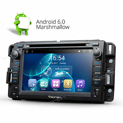 """HD 7"""" Android 6.0 Car DVD MP3 Player FM/AM Radio F for Chevrolet GMC Buick WIFI"""