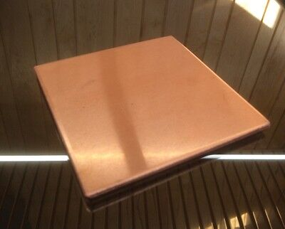 "1/8"" COPPER SHEET PLATE NEW 4""x4"" .125 THICK *CUSTOM 1/8 SIZES AVAILABLE*"