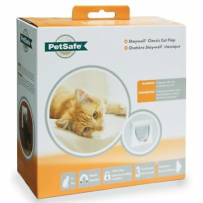 Petsafe Staywell Magnetic 4-Way Locking Classic Cat Flap