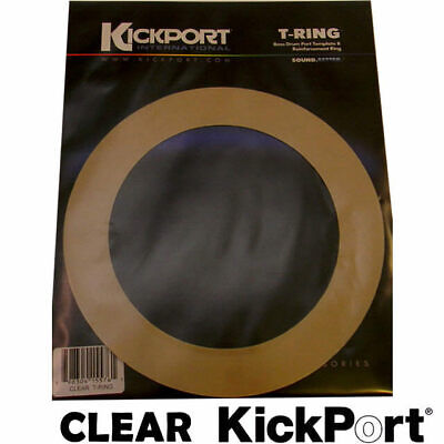 KickPort T-Ring Bass Drum Template Reinforcement Port Ring Clear