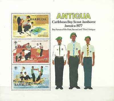 Timbres Scoutisme Barbuda BF29 ** lot 19627