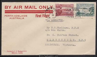 2 June 1929, Perth W.A. to Melbourne via first Perth-Adelaide flight. (AAMC 137)