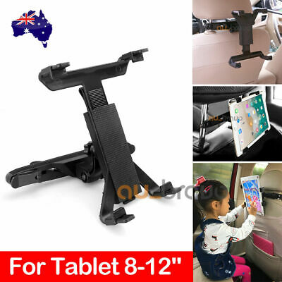Universal Car Mount Seat Headrest Holder For iPad Samsung Android Tablet 7-12""
