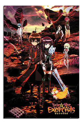 Twin Star Exorcists Manga Poster New - Maxi Size 36 x 24 Inch