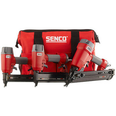 SENCO FinishPro 3-Tool Nailer and Stapler Combo Kit 1Y0060R Recon