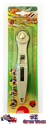 Arts Craft Scrapbooking Rotary Cutter  w/ Replaceable Changable Blade 20mm (Dia)