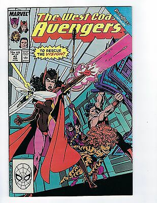 West Coast Avengers # 43 Marvel