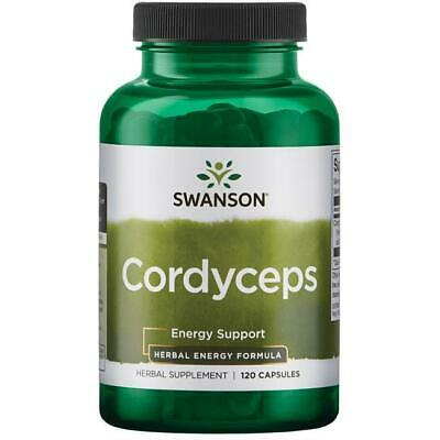 Swanson Cordyceps 600mg x 120Caps ****Fast & Free UK  Delivery