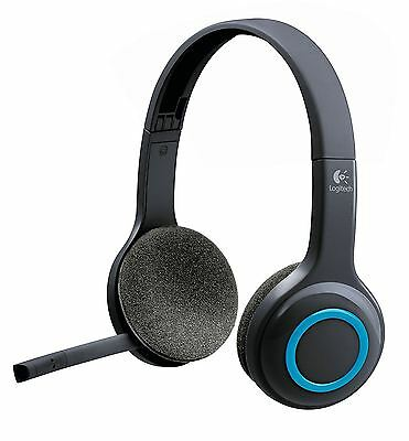Logitech H600 Wireless PC Headset Headband Range Up To 10m 981-000342
