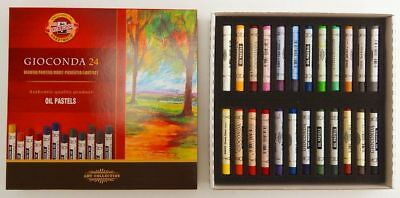 Oil Pastel Set Painting Gioconda Koh-I-Noor Art 8354 8352 Artist Drawing Stick