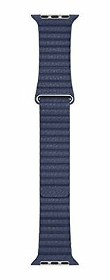 Apple Leather Loop Band - 42mm - Midnight Blue - MLHL2ZM/A