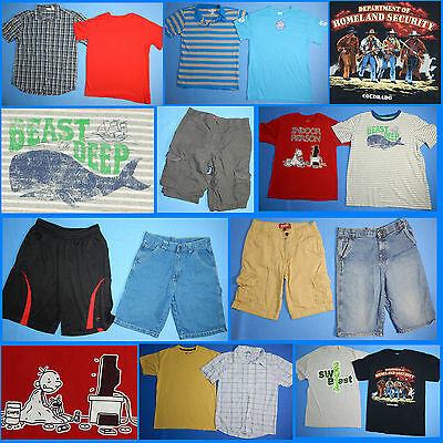 15 Piece Lot of Nice Clean Boys Size 16 18 Spring Summer Everyday Clothes ss98