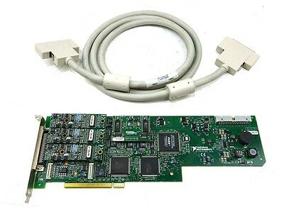 National Instruments PCI-6110E MIO Multifunction DAQ Card with Cable 184111G-01