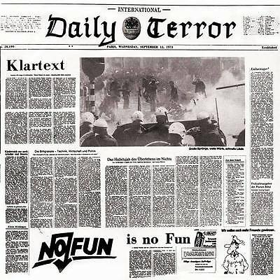 DAILY TERROR KLARTEXT EP (black wax)