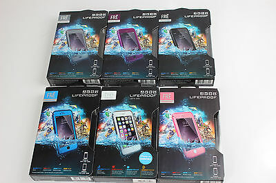 100% Authentic LifeProof Fre WaterProof Case Cover For Apple iPhone 6S & 6