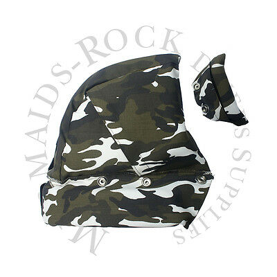 Commercial Diving: Hat Liner Snow Camouflage