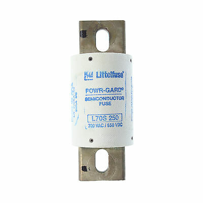 Little Fuse L70S-250 Powr-Gard High Speed Fuse, 700Vac, 650Vdc, 250A