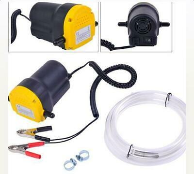 12V Oil Diesel Fuel Fluid Extractor Transfer Scavenge Suction Electric Pump New
