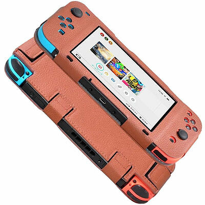 Leather Protec Cover Case For Nintendo Switch Joy-Con Controller  NEW Anti-slip