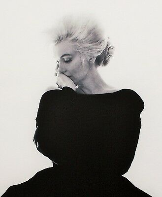 BERT STERN : PHOTOGRAPH , hand signed + numbered 31/72 , MARILYN MONROE IN VOGUE