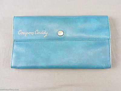 Vintage Coupon Caddy Wallet-Blue