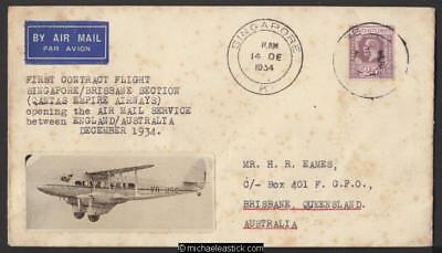 8 Dec 1934, 1st regular England - Australia flight