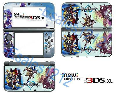 Anime Kingdom Hearts Vinyl Decals Skin Sticker Cover forNintendo New 3DS XL 2015