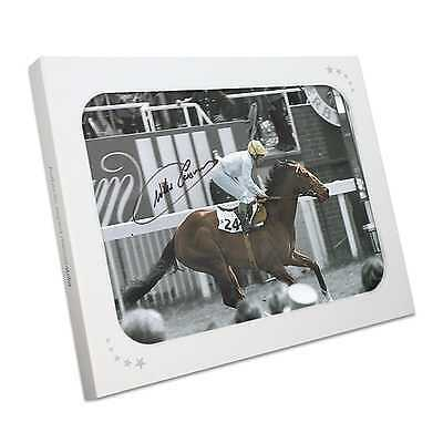 Willie Carson Signed Troy Photo Memorabilia Collectables Gift