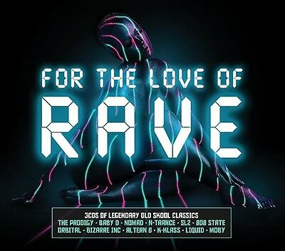 Various - For The Love Of Rave Brand New Sealed 3Cd