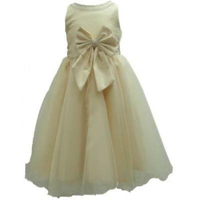 New Girls Formal Wedding Bridesmaid Party Size Dress Age 2-4 Years